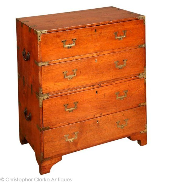 Antique Anglo_Indian_Campaign_Chest