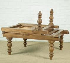 teak campaign_day_bed_with_wood_slots